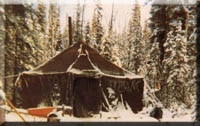The Tent In Tok, MASH tent, home of a poet laureate and Alaska links.