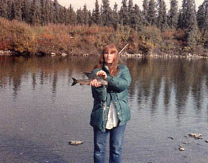 Donna Bernhardt's Alaskan love story includes winter survival in a tent.
